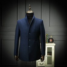 Men's Business Leisure Commuter Spring Clothing Fabric Overcoat