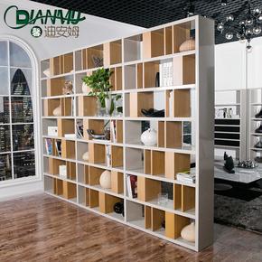 创意时尚隔断大书架现代客厅玄关隔断北欧开放式书柜置物柜陈列柜