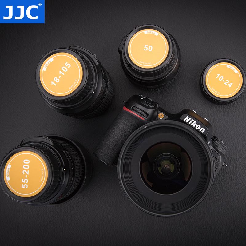 JJC 尼康单反相机F卡口镜头后盖 贴纸防尘盖 18-105/18-140mm