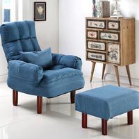 日式客厅榻榻米懒人沙发卧室单人小户型布艺沙发休闲哺乳喂奶椅子