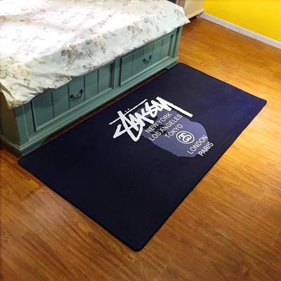 床边毯防滑地