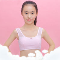 Girls bra, junior high school students, development period, underwear, cotton, children, girls, vest, sports vest, bra