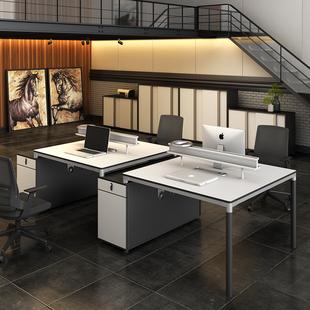 6人位电脑桌办公家具 ework办公桌椅组合简约现代办公室工作位2