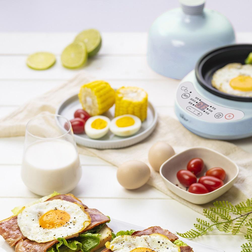 小熊宝宝辅食机蒸煮一体锅早餐机煮蛋器蒸蛋羹婴儿插电BB煲蒸煮锅