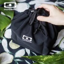 法国monbento饭盒袋ins手提包日式便当包便携微波炉餐盒手提袋