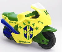 Sogou motorcycle 6 generations Children's toy speed car 7 generations Small model Sogou inertia car mini car