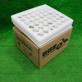 Pearl cotton, dove quail egg tray packing, express egg packing box, fruit shock proof foam packaging box customization