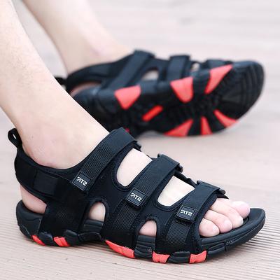 男士越南凉鞋夏季透气休闲沙滩鞋男2018新款潮流韩版个性百搭软底