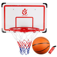 Send rubber basketball large hanging basketball board Outdoor wall hanging basketball stand adult shooting frame