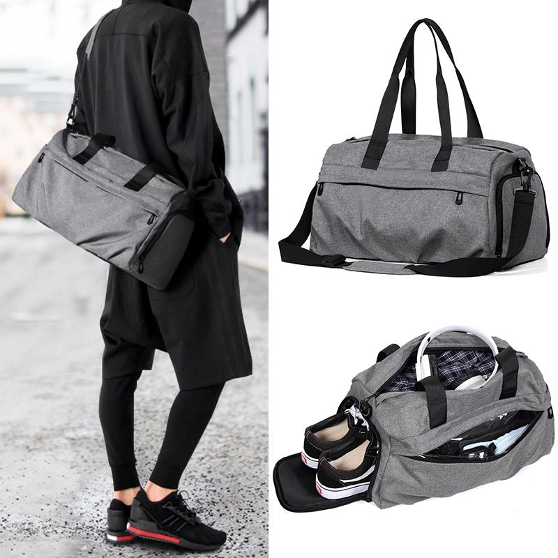 旅行包男手提包运动包健身包干湿分离轻便短途旅游大容量行李袋女