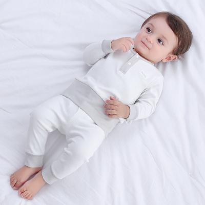 宝宝内衣纯棉男童秋衣裤套装冬季1岁0女童3春秋装新生婴儿睡衣服