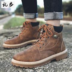 马丁靴男短筒靴男鞋