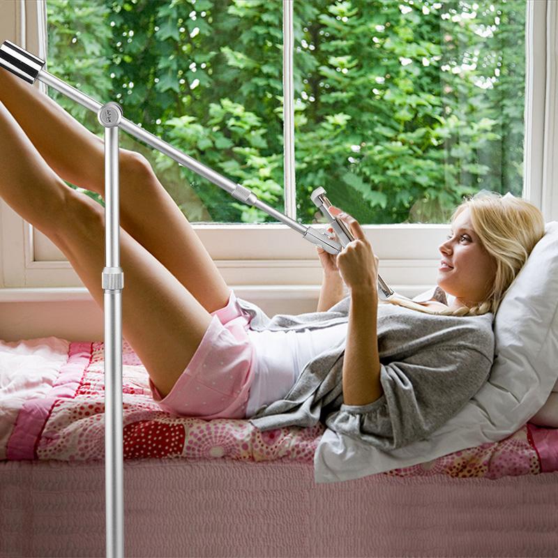 豪華ipad支架平板電腦手機床邊懶人通用蘋果迷你床頭床上沙發落地