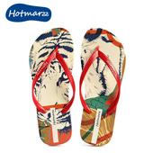 女夏外穿夹脚夹趾防滑沙滩凉拖鞋 hotmarzz黑玛2019新款 人字拖鞋