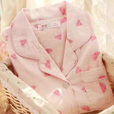 全棉纱布月子服