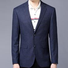 冬季男装新款韩版西服中年yabo2018下载大码西装外套男M0PLAYBOY0JOEONE0图片