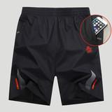运动短裤男宽松速干大码五分裤健身套装跑步夏季薄款透气男沙滩裤