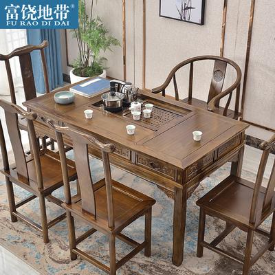 茶桌椅组合将军茶台