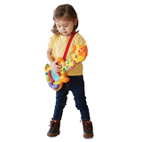 VTech Weiyida Giraffe Sound Guitar Plays Recordable Baby Puzzle Music Enlightenment Toys