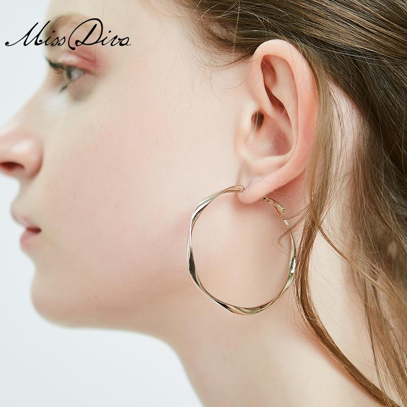 微芒欧美大耳环圈圈气质耳圈女时尚个性夸张耳钉圆环耳坠韩国饰品