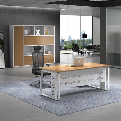 大班台主管桌 老板桌简约现代办公室桌子简易板式经理桌办公桌旗舰店