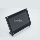 Raspberry pie 7-inch 5-inch LCD toughened capacitive touch screen drive-free USB touch screen 2B/3B/3B+