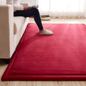 艾贝德 加厚客厅茶几沙发卧室地毯榻榻米 宝宝爬行垫子 可定制