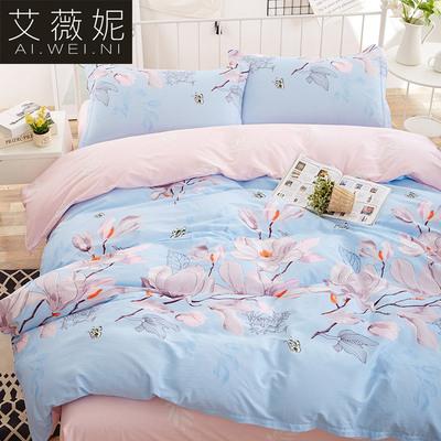 床单四件套纯棉学生全棉四件套