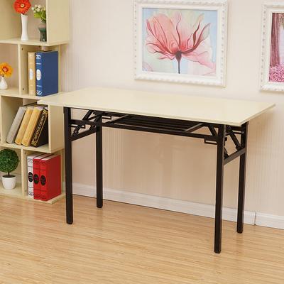 简易折叠桌子办公桌会议桌长条桌培训桌课桌电脑桌可折叠学习桌子最新报价