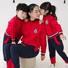 小学生红色校服