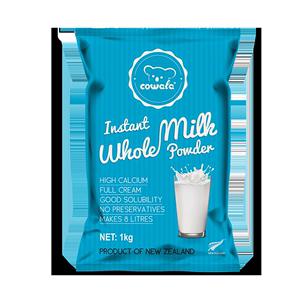 咔哇熊 新西兰原装进口奶粉成人中老年女士学生高钙全脂奶粉1kg