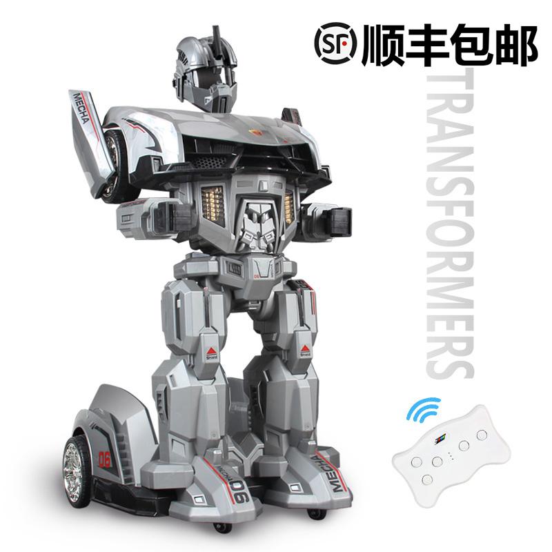 电动机器人玩具车