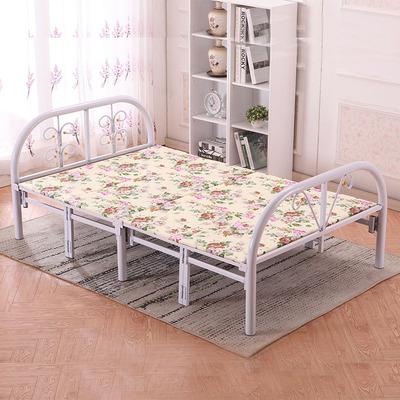 家用折叠床单人床儿童床双人床木板床午休床午睡床铁艺1米1.2米爆款