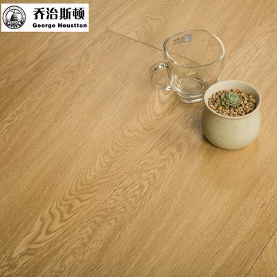 乔治多层实木复合地板 橡木纹三层实木复合地板 钛金耐磨防水地热