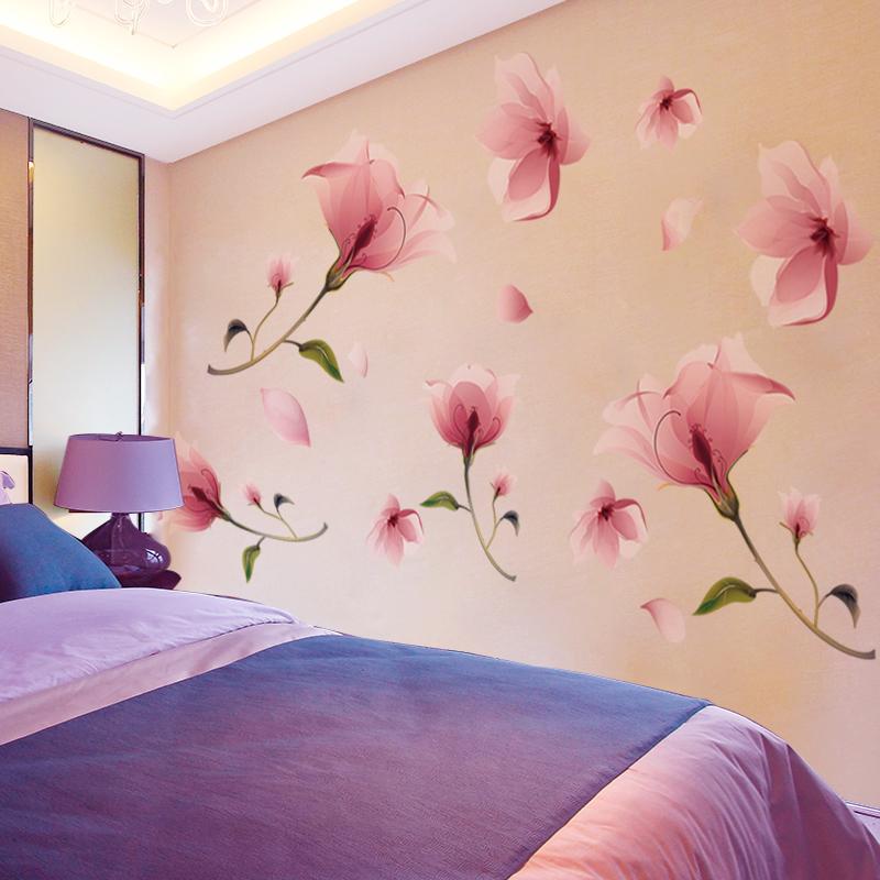 卧室温馨墙纸自粘3D立体墙贴纸贴画房间背景床头墙壁贴花墙面装饰