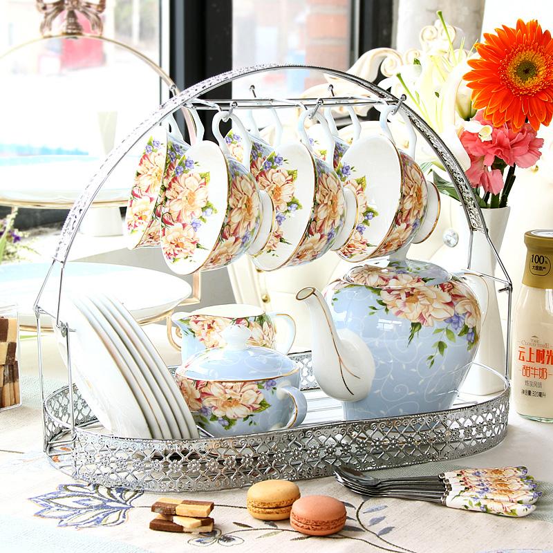 下午茶茶具套装骨瓷