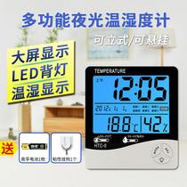 博汇食品烘焙油炸电子温度计厨房水温计测食物奶温油温表探针式