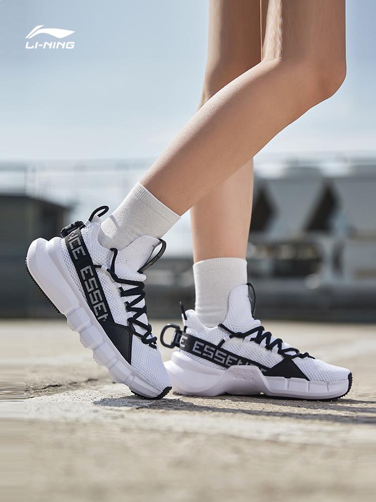 李宁休闲鞋女鞋2019新款悟道韦德之道透气轻便篮球文化鞋运动鞋