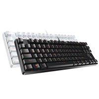 Official flagship store Darwin mechanical keyboard dk100 black axis green tea red game cable 87/104 key desktop computer notebook Jedi survival lol e-sports chicken peripherals