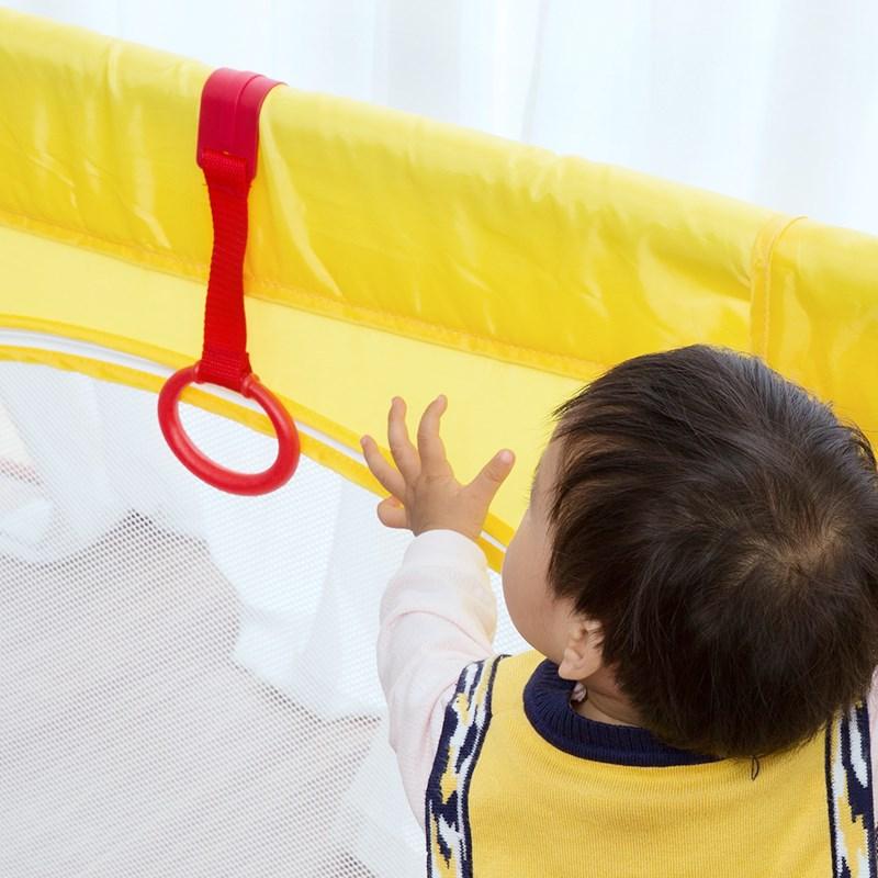 宝宝游戏围栏专用手拉环儿童床吊环婴儿站立手拉环学步辅助拉环