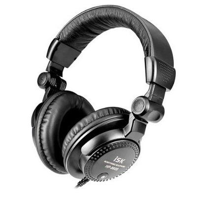 ISK HP-960S封闭式监听耳机 网络K歌 耳机专业 头戴耳机录音声卡