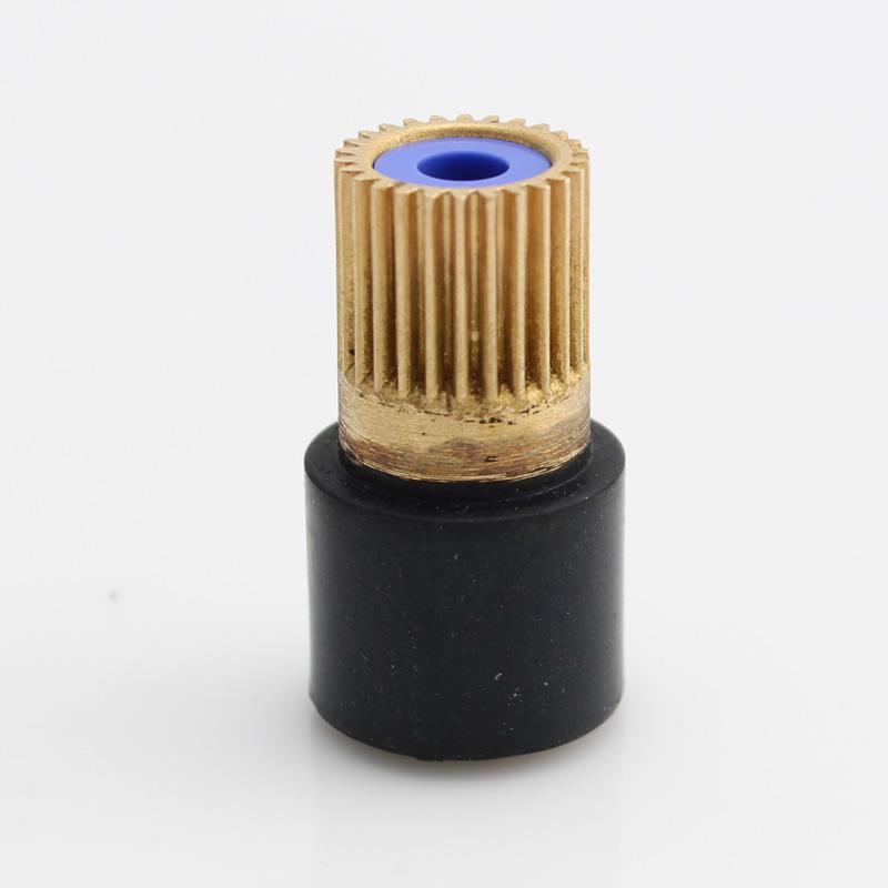 硕方线号机维修配件tp60i/tp66i 胶辊齿轮TP60A/TP66A主滚轮打印