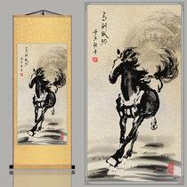 16万利手绘原稿真迹收藏装饰风水字画万事如意花鸟画三尺国画
