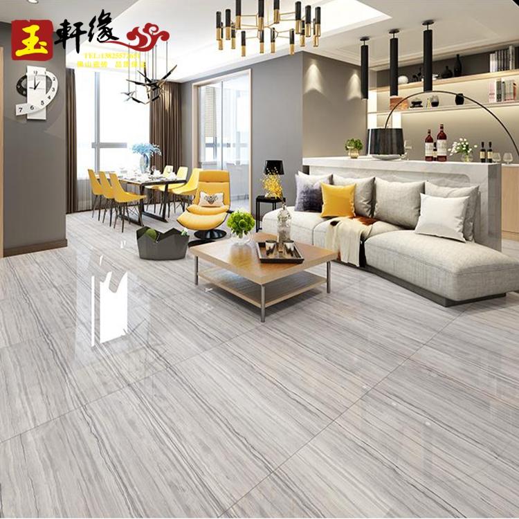 客厅木纹砖瓷砖