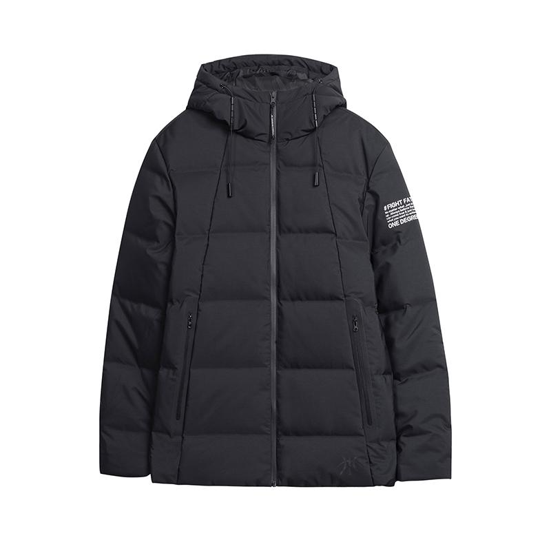 361男装外套2018冬季新款羽绒服男361度潮短款男士保暖厚外套运动