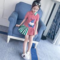 童装女童时尚连衣裙潮