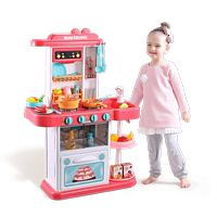 Beienshi children's kitchen toys play house set simulation kitchenware cooking rice boy baby girl 3-6 years old 7
