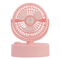 Remax shaking head electric small fan mini rechargeable portable desktop desktop rotating micro fan home bed bed battery small table fan usb large wind mute electric fan