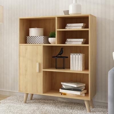 床头柜简约现代小柜子简易实木腿储物柜迷你欧式床边组装收纳柜