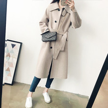 360 degrees of beauty! 100% wool overcoat and woolen mid-long coat 1.5kg special price non-refundable